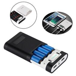 100000mAh LCD Portable Power Bank 2 USB LED Backup Charger B