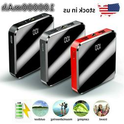100000mah Mini Power Bank Charger For IPhone & Android 2.1A