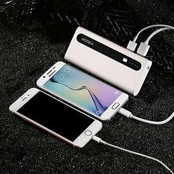Aibocn 10000mAh Power Bank Portable Charger for Phone Tablet