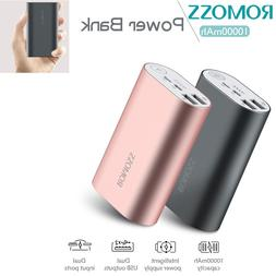 10000mAh Small Power Bank Dual External Portable Charger 2 U