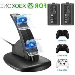 LED Dual Charging Dock Station Charger / Rechargeable Batter