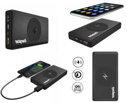Energizer 10000mAh Wireless Portable Qi Charger Power Bank Q
