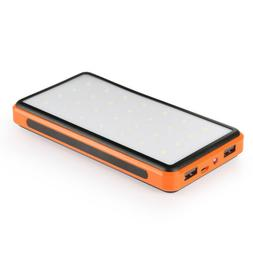 15000mah solar panel power bank 5v 1a