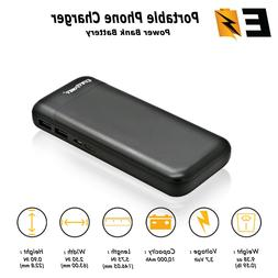 10000mAh Power Bank USB Portable Charger for Samsung Galaxy
