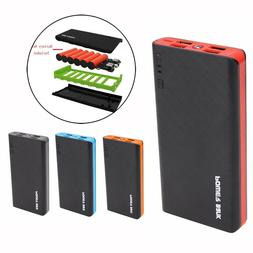2.1A 4USB Power Bank Case 6x18650 Battery Charger DIY Box Ca