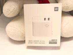 2 in 1 Xiaomi Power bank and Wall Charger 5200mAh support fa