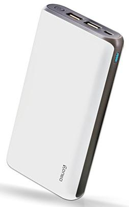 Aduro 20,000mAh Battery Pack Power Bank, External Battery Ch