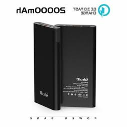 20000mAh Power Bank External QC 3.0 Type-C Charger Battery F