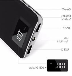 Tundras 20000mAh Power Bank FAST CHARGE, Digital Display, Du