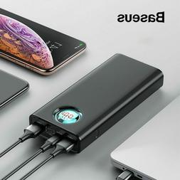 20000mAh Power Bank For All Units Cellphones Laptops Type C