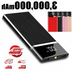 2019 New Power Bank 500000mAh Portable External Battery Huge