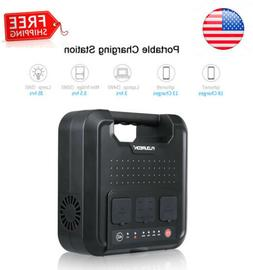 220Wh Portable Power Station Solar Generator 4fast-Charging