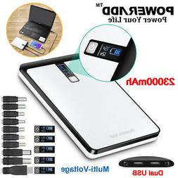23000mAh USB Battery Charger External Power Bank For Cell Ph