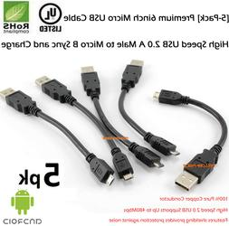 2a rapid charging 6inch micro usb sycn