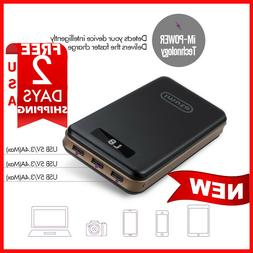 iMuto 30000 mAh PORTABLE CHARGER 3-PORT USB 3.4A POWER BANK