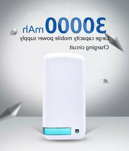 30000 mah Portable Fast Power Bank Emergency Charge Apple An