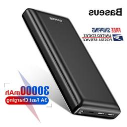 Baseus 30000mAh Power Bank Portable Dual USB C PD Fast Charg