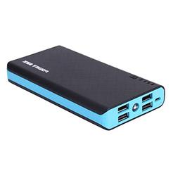 Case Safety 1 x 300000mAh 4 USB Portable Battery Charger Ext