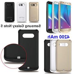 4200mah External Power Bank Pack Battery Charger Case For Sa