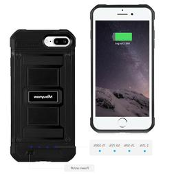 """5.5"""" External Battery Case Charger Power Bank Backup Cover F"""