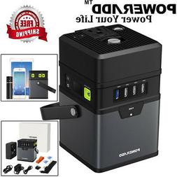 50000mAh Portable DC/AC Power Inverter Multifunction Power B