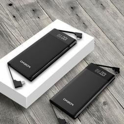 FDGAO 50000mah Power Bank LCD 3Input 3Output Battery Charger
