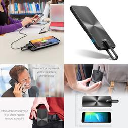 5000mah slim power bank usb c portable