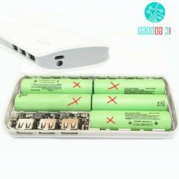 5V 1A 2.1A Power Bank Charger Circuit Board 18650 Case Shell