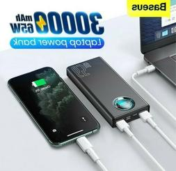 65w pd power bank 30000mah quick charge