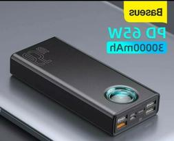 Baseus 65W Power Bank 30000mAh PD Quick Charging FCP SCP Pow
