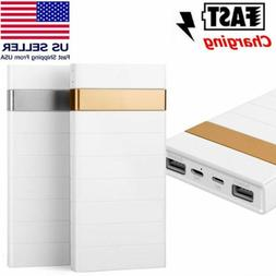 80000MAH POWER BANK PACK DUAL USB MOBILE BATTERY CHARGER FOR