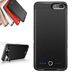 8000mAh Battery Charging Power Bank Charger Case Cover for i