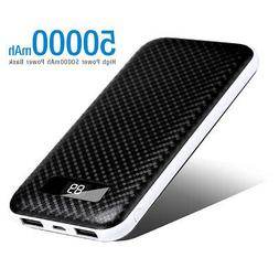 Dual USB 50000mAh Power Bank External Battery For Samsung Ga