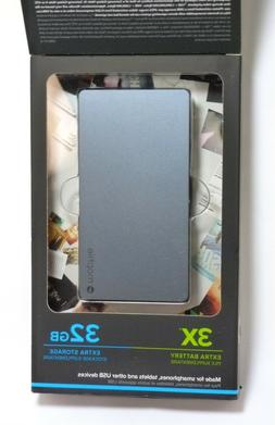 Mophie - Spacestation 32gb External Portable Hard Drive For