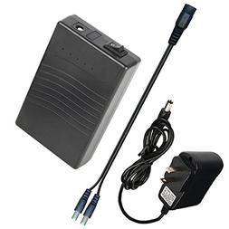 TalentCell Rechargeable 12V DC Output Lithium ion Battery Pa