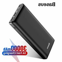 Baseus 30000mAh Power Bank For iPhone Samsung Xiaomi Powerba
