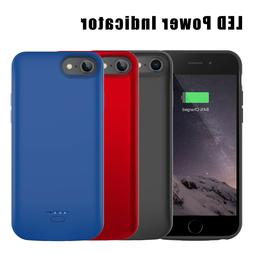 Battery Case Charger Power Bank Charging Phone Cover For iPh