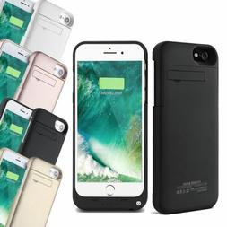 External Battery Charger Power Bank Case For iPhone XS 6 7 &
