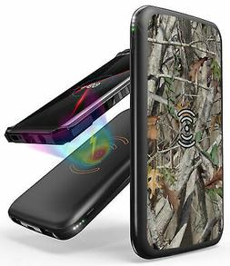 CAMO TREE WOODS QI WIRELESS PORTABLE CHARGER POWER BANK 8000
