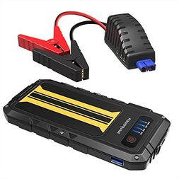 Car Jump Starter RAVPower 300A Peak Current  Quick Charge Po