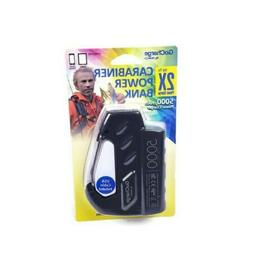 Cell Phone Tablet Carabiner Power Bank Charger 5000 mAh with