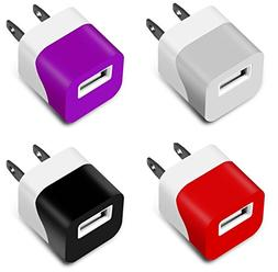 Charger, 5W 1A Certified Mini USB Universal Matte Portable T