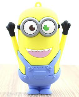 Cute Minions 8800mAh Small Portable Charger Power Bank For C