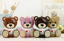 Cute Teddy Bear Power Bank 10000mAh with Original Cable+2-in