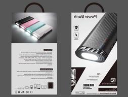 Dual USB 20000mAh Power Bank Universal Portable Battery for