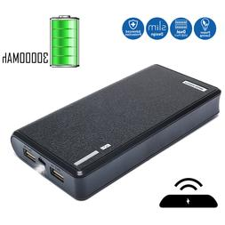 Dual USB Power Bank 30000mAh External Backup Phone Battery C