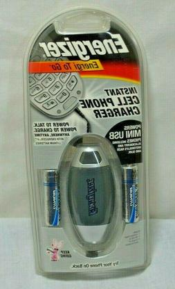 Eveready Energi To Go Instant Cell Phone Charger W/Three Mot