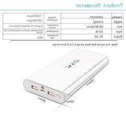 External Power Bank 20000mah Lithium Pack Battery Fast Charg