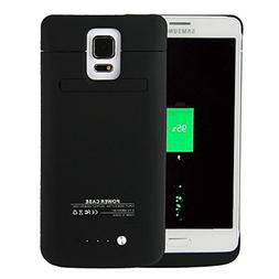 Galaxy Note 4 Battery Case, 4800mAh Slim Rechargeable Extend