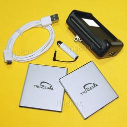 2X 3500mAh Grade A Rechargeable Battery for Samsung Galaxy